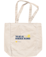 Bee All Honeycomb Health Tote Natural