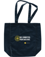 Bee Connected Tote Black