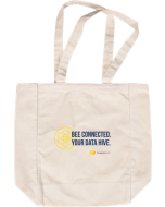 Bee Connected Tote Natural
